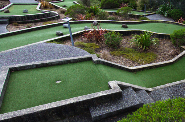 Mini Putt Course at Prodrive Hamilton